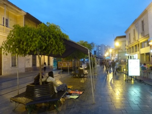 Calle Baquenado by night