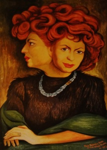 Portrait de Mathilde par Diego Rivera - source clarando.blogspot.com