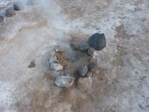 Bébé geyser :-)