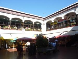 A l'intérieur du marché