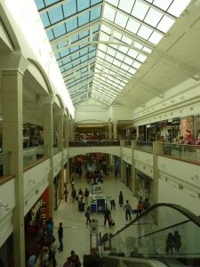 Le centre commercial...