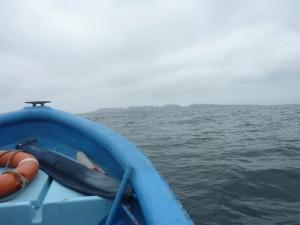 En route vers l'isla Choros