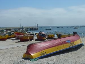 Le port et la jetée depuis laquelle nous allons embarquer