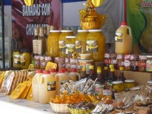 Ici comme à La Serena, de nombreuses boutiques vendent des produits à base de papayes cultivées dans la vallée de l'Elqui.