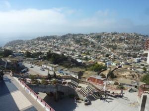 Vue sur Coquimbo depuis la Croix