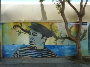 Pablo Neruda -  Admirez le jeu entre l'arbre réel et dessiné…
