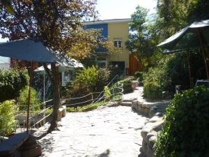 Le jardin de la Chascona (photos interdites à l'intérieur)