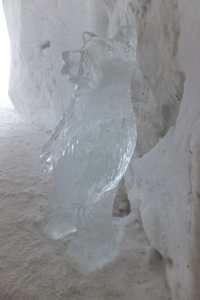 ... sculptures sur glace incluses !