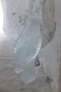 ... sculptures sur glace incluses !