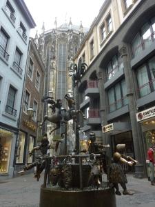 La fontaine des marionnettes