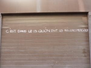 Première photo de Marseille, on se dit que ce n'est pas totalement gagné...