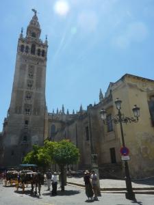 La cathédrale et son clocher, la Giralda