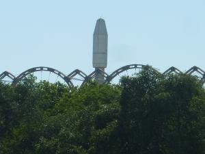 Réplique de la fusée Ariane