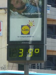 Que calor!