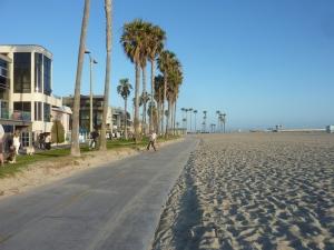 La promenade de Venice Beach