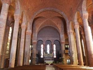 L'intérieur de l'église de Gien