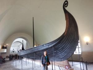 L'un des navires Vikings
