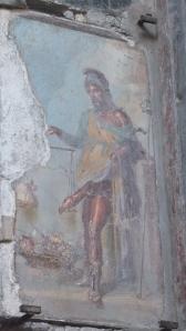Une fresque osée… dans la maison dite «de Priape», bien sûr!;-)