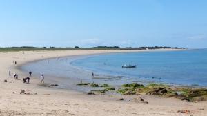 La plage de Luzéronde