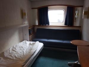 Notre mignonne cabine :-)
