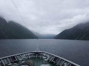 Entrée dans le Geirangerfjord