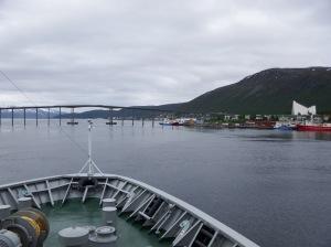 Départ de Tromso