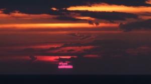 Le plus beau coucher de soleil du séjour