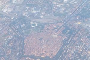 Survol de Modène, la voisine de Bologne