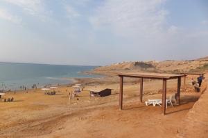 Amman Beach, au bord de la mer Morte