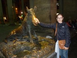 Une statue qui m'a beaucoup plue !