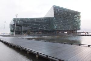 Harpa, l'opéra de Reykjavik
