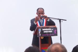 Le maire de Saint Denis