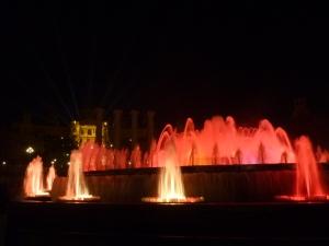 Le spectacle des fontaines de Montjuic