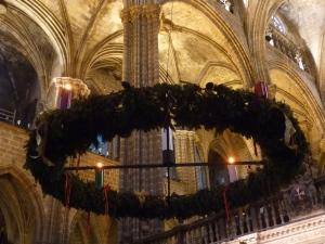 Couronne de l'Avent dans la cathédrale