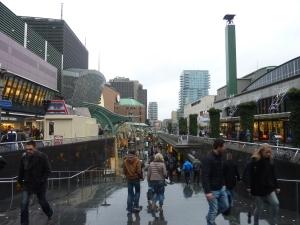 Les rues commerçantes du centre-ville