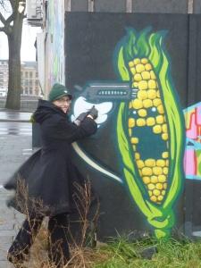 Le jour où j'ai braqué un épi de maïs