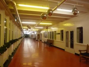 Les coursives du SS Rotterdam