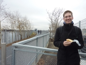 Petit hot-dog sur la High Line