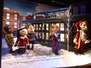 Vitrines de Noël chez Macy's