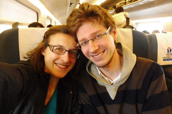 Dans le train en Chine !
