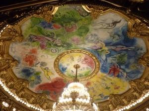 Le plafond peint par Chagall