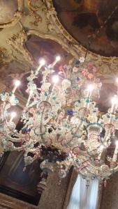 Chandelier en cristal de Murano