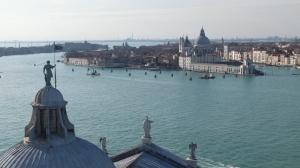 ... et vue sur la lagune depuis San Giorgio Maggiore