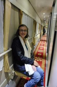 Il y avait même un petit tapis dans le couloir ^^