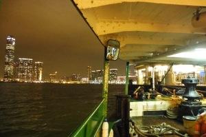 Ferry pour Kowloon, juste en face