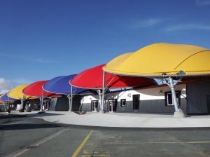 Le surprenant toit du musée maritime
