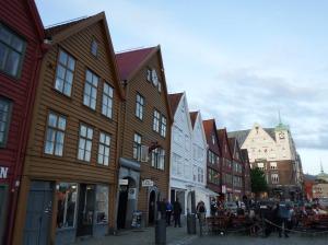 Les maisons de Bryggen