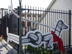 Street art du côté de l'Express Côtier