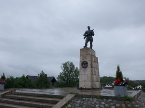 Monument soviétique
