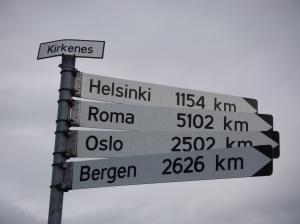 Au bout du monde à Krkenes